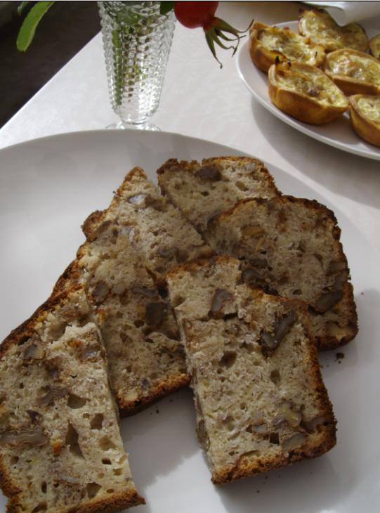 Feeling nuts, Banana and Walnut Bread | whyiamnotskinny