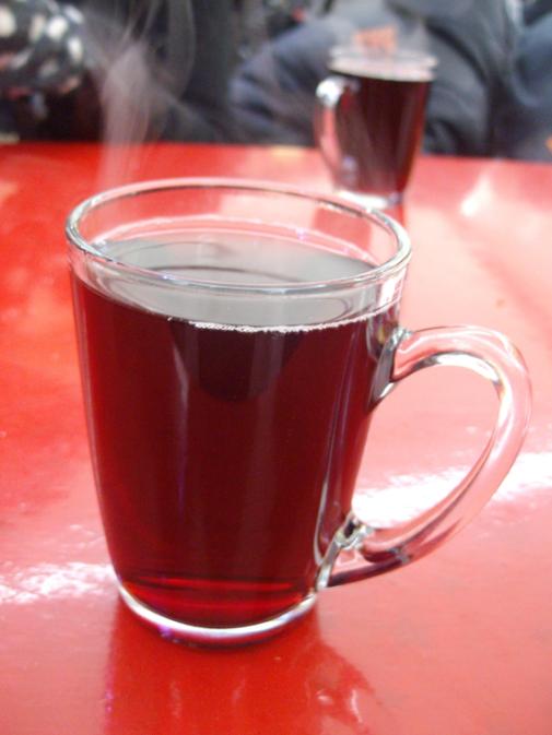 steaming mug of happiness