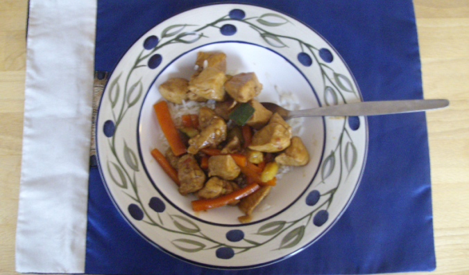 sweet and sour chicken final