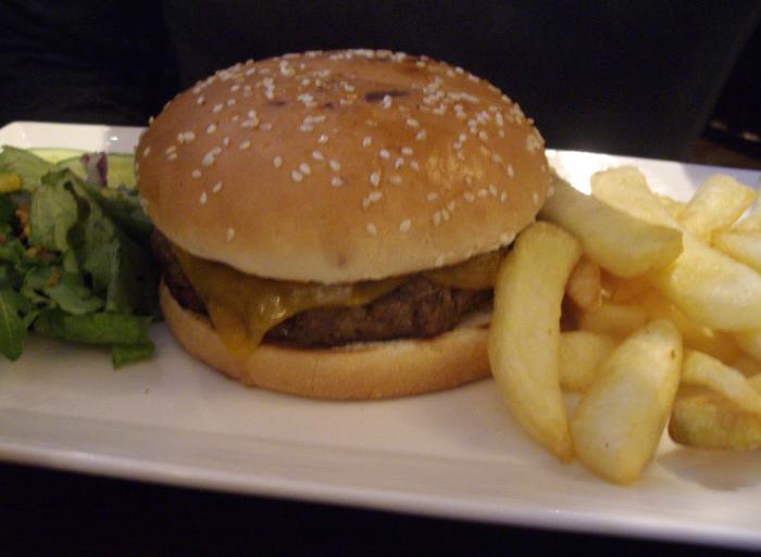De Valera's burger