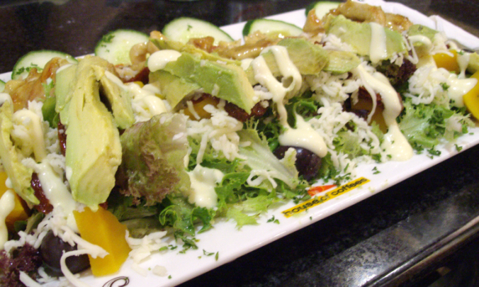 house of coffees salad