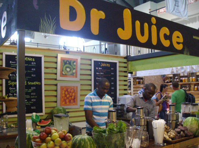 market on the wharf - juice bar
