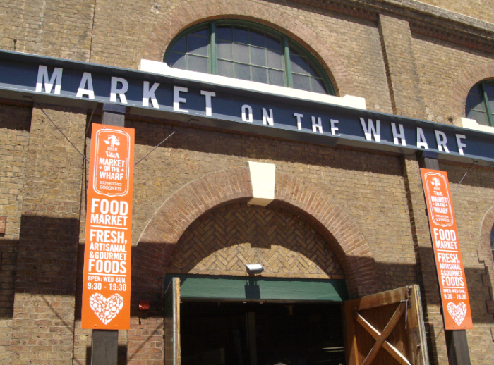 market on the wharf