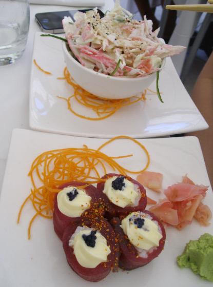 sevruga leigh sushi