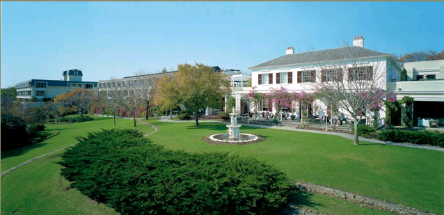 view of the hotel (courtesy of their website)