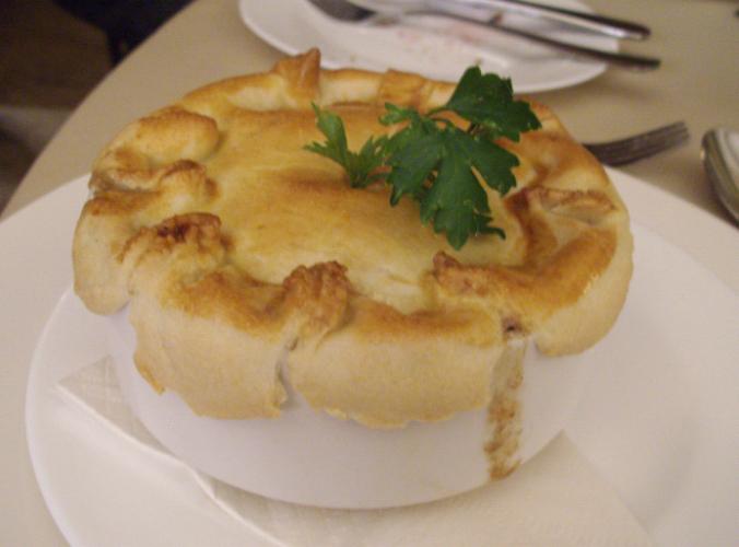 wild fig chicken pie