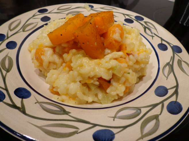 pumpkin risotto final
