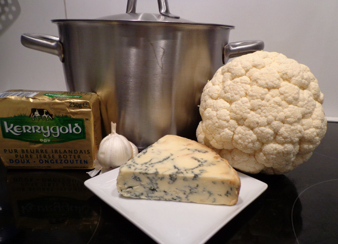 cauliflower and stilton soup ingredients