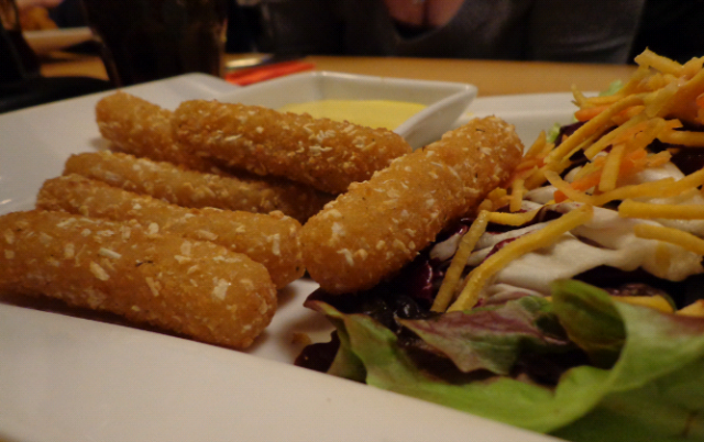 Fried CHEESE sticks -  6.50Euros