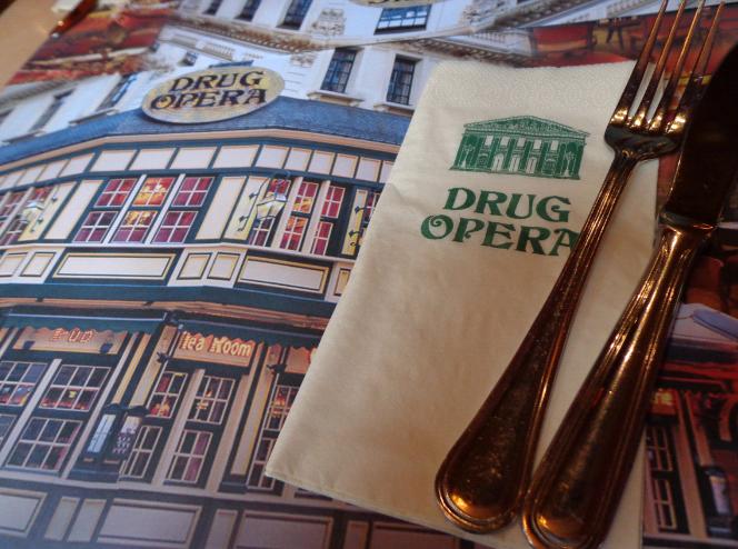 drug opera setting