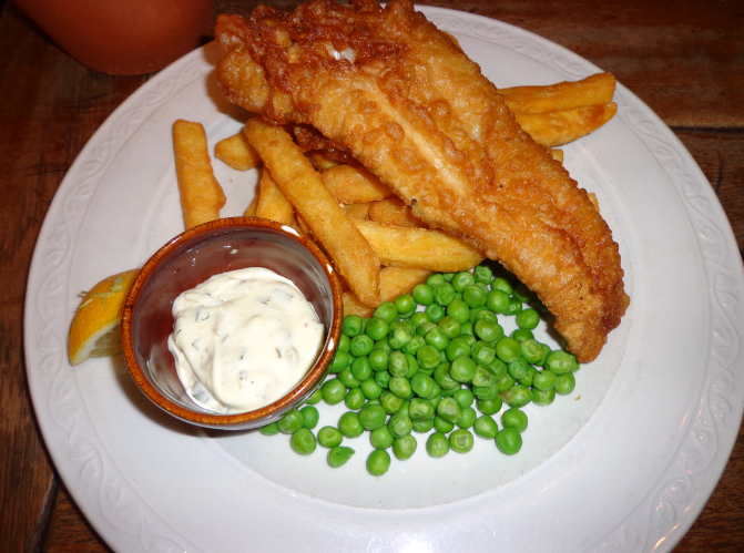 euston flyer fish and chips