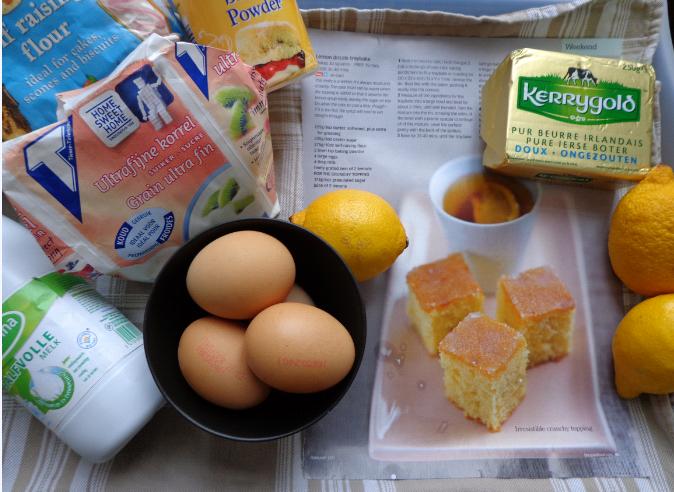 lemon squares ingredients