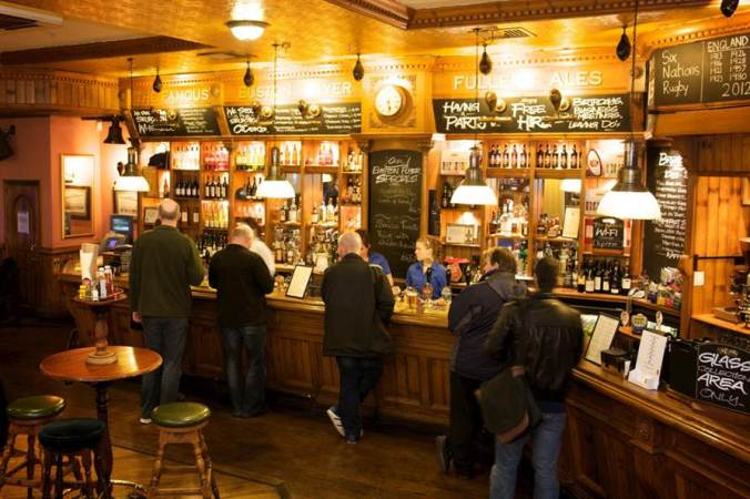 inside the pub (photo credit: their website)