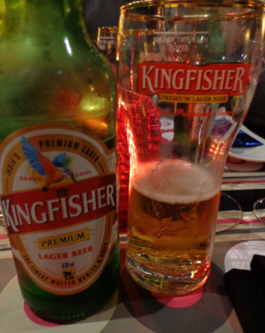 love love the kingfisher beer with a curry!