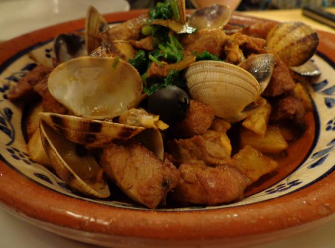 coimbra pork and clams