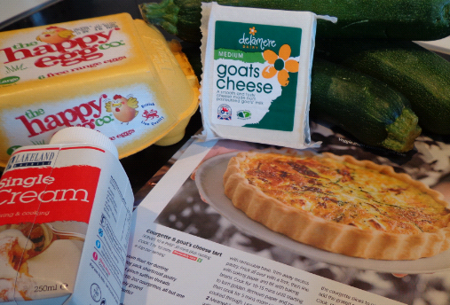 courgette quiche ingredients