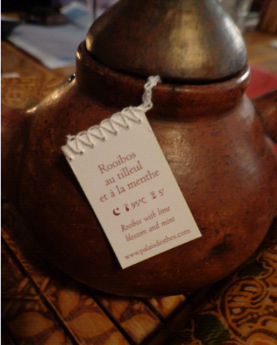 Garuda rooibos and mint tea