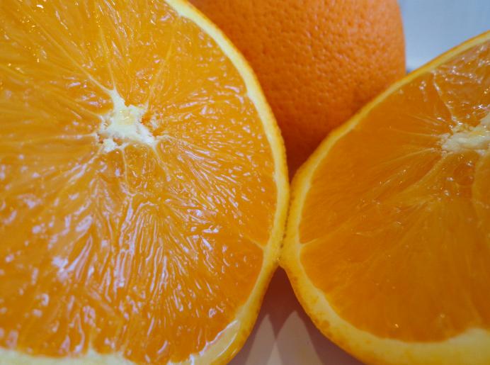 orange and poppyseed muffin orange