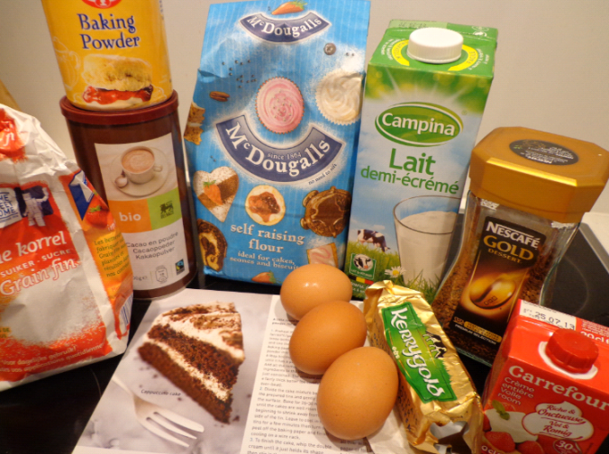 cappuccino cake ingredients