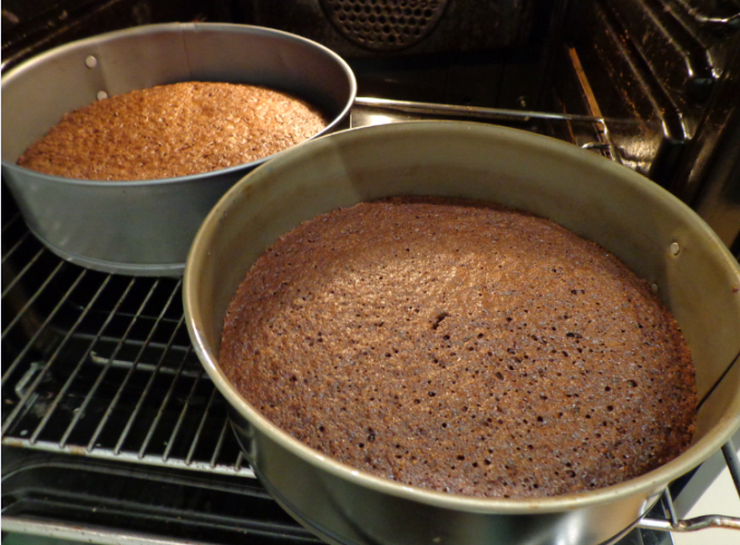 cappuccino cake oven