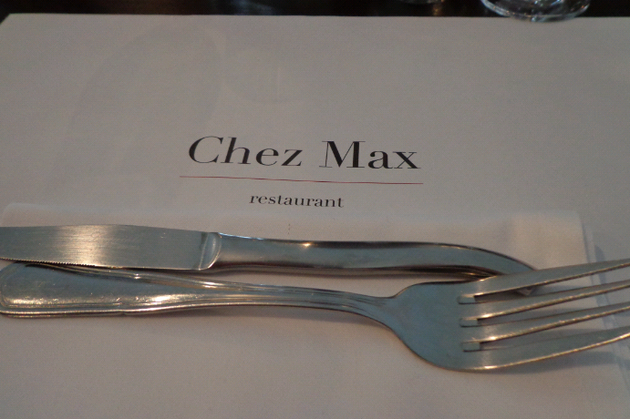chez max place setting