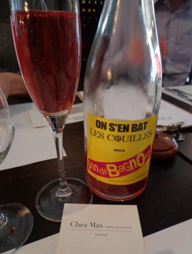 chez max rose still aperitif