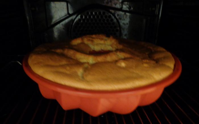 prosecco and orange cake oven