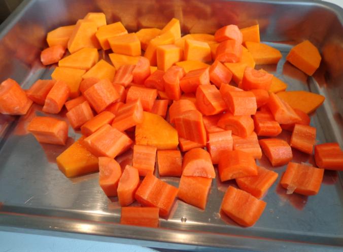 roast vegetables 2 carrots