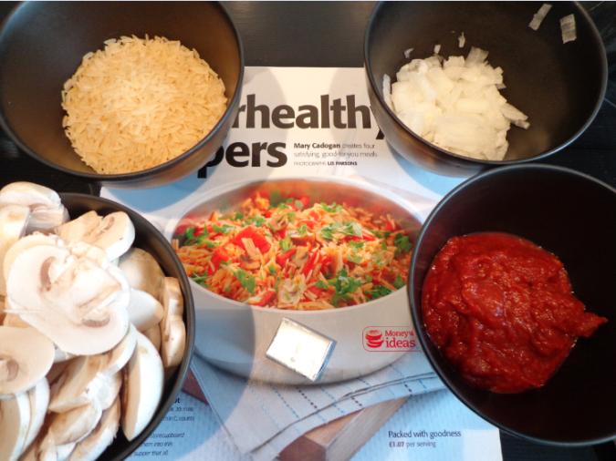 savoury rice ingredients