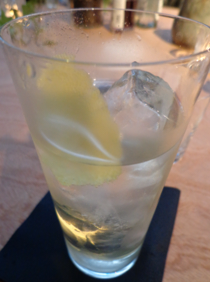 Hortense smoky martini