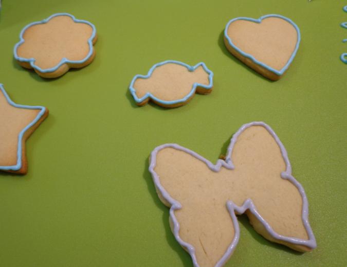 la cucina delle zie cookies outline