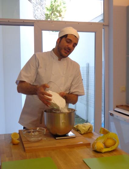 la cucina delle zie making butter icing