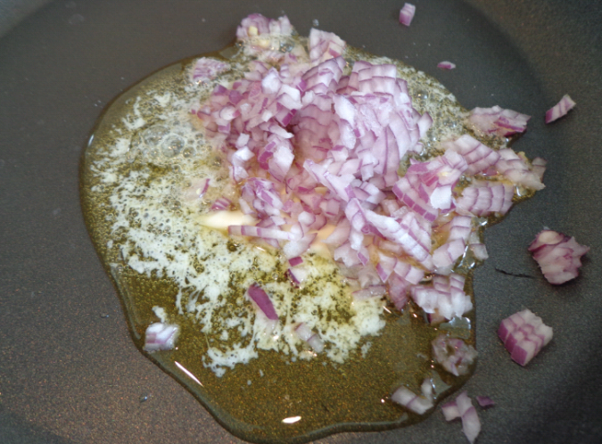 spinach stuffed pasta shells onion