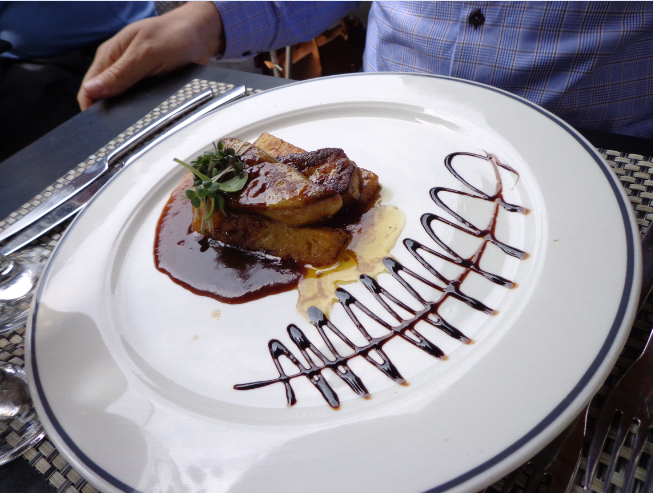brasserie etangs foie gras