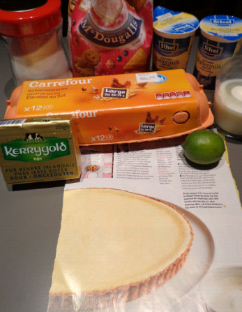 buttermilk tart ingredients