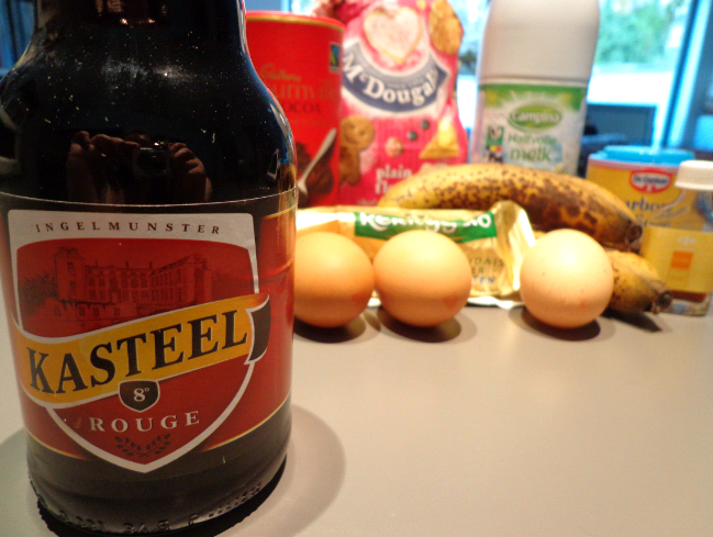 Kasteel banana choc muffins ingredients