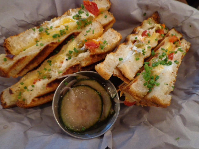 Clarkes grilled cheese chilli