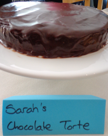 Sarahs chocolate torte