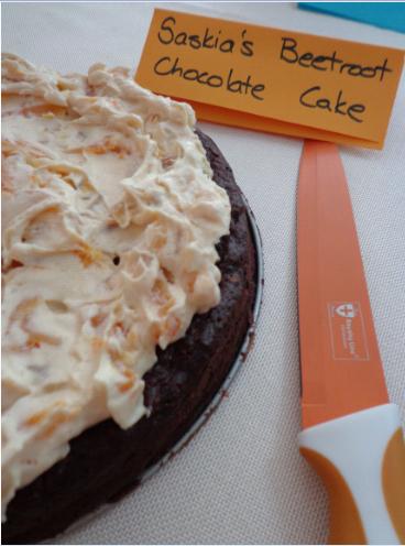Saskias beetroot chocolate cake