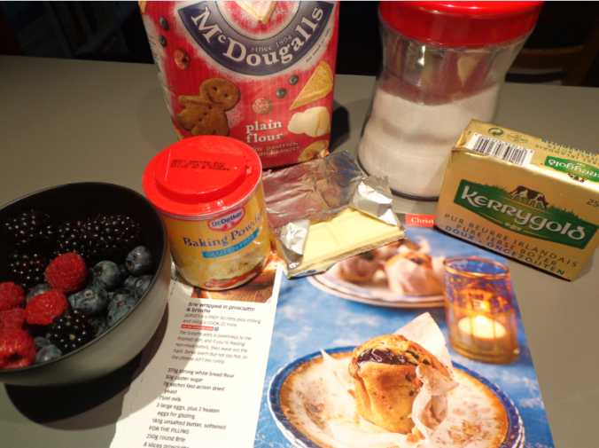 bumbleberry muffin ingredients
