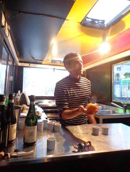 eat color food truck interior