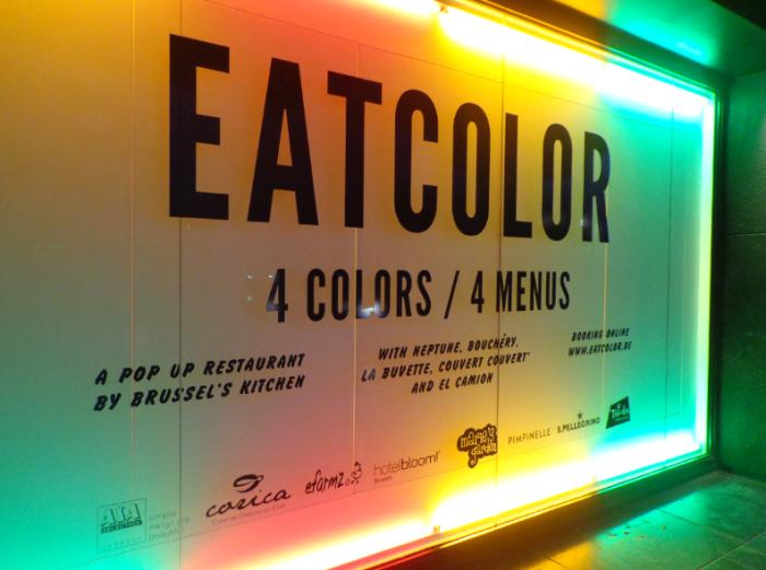 eat color sign