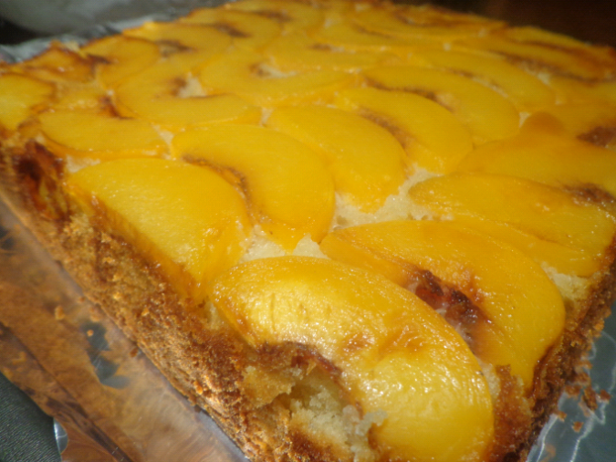peach upside down cake final