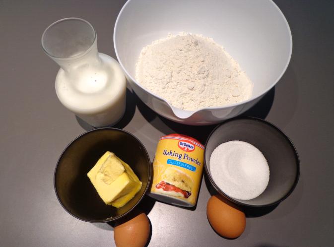 scones ingredients