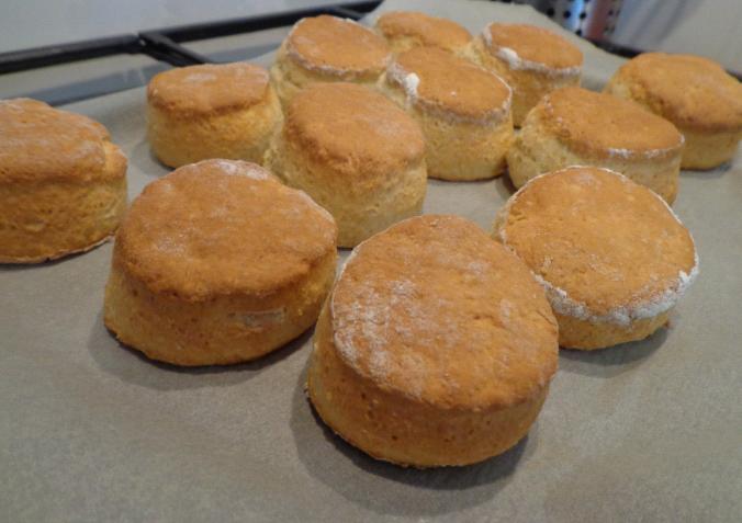 scones post oven