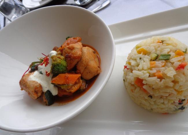 Our Chicken & chorizo casserole