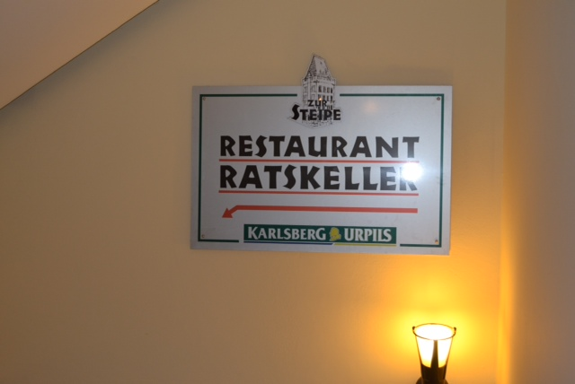 ratskeller sign