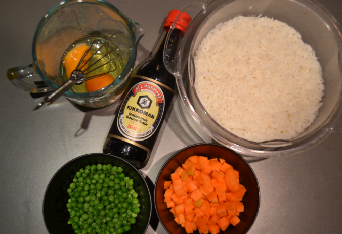egg fried rice ingredients