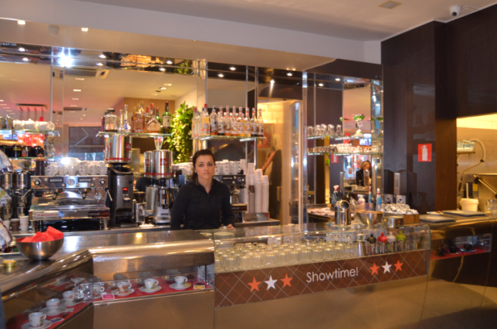 natural cafe interior
