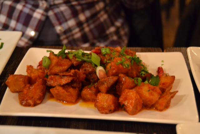 spicy potatoes (batata hara)